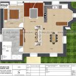11 Bản vẽ tầng 4 biệt thự tân cổ điển đẹp tại hà nội sh btp 0142