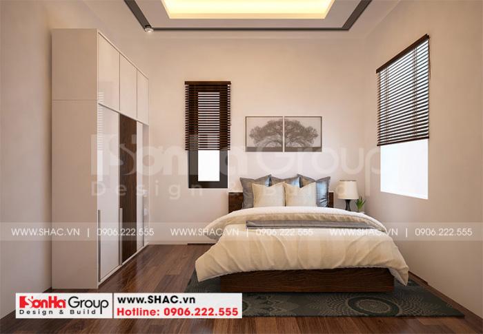Không gian phòng ngủ nhỏ xinh nổi bật với bố trí khoa học màu sắc đẹp