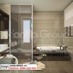 14 Cách trang trí nội thất phòng tắm biệt thự cao cấp wfc 007