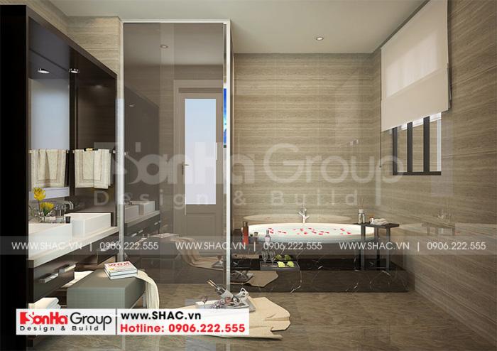 Cách trang trí phòng tắm và vệ sinh thể hiện tư duy sáng tạo năng động