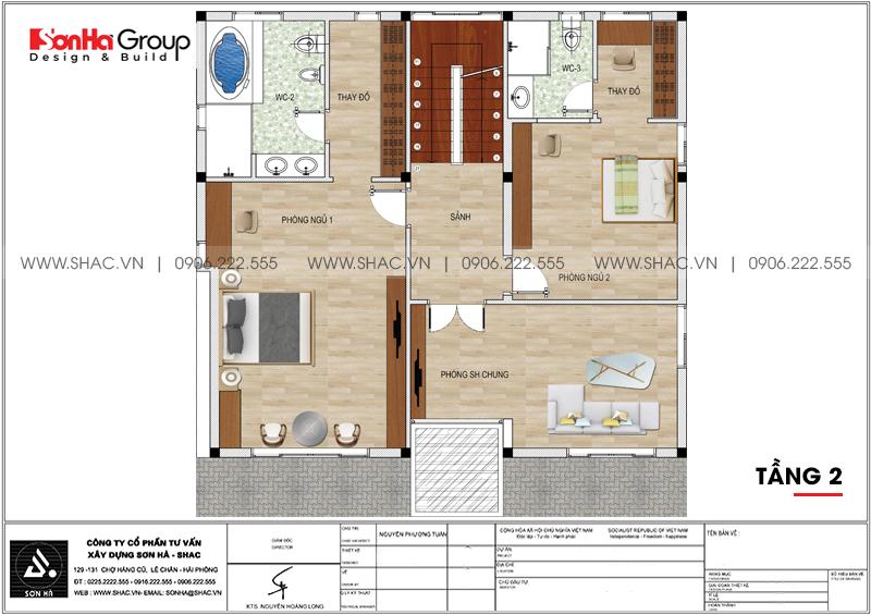 Thiết kế nội thất biệt thự hiện đại có tầng hầm tại Waterfont City Hải Phòng 17