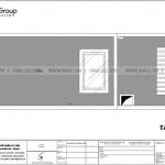 18 Bản vẽ tầng mái nhà ống hiện đại tại lạng sơn sh nod 0206