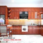 2 Mẫu nội thất phòng bếp nhà ống 2 tầng kiểu tân cổ điển tại sài gòn sh nop 0193