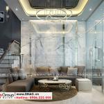 2 Mẫu nội thất phòng khách kiểu hiện đại khu đô thị waterfront wfc 006