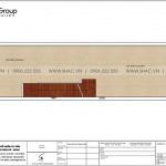 3 Mặt bằng tầng 1 nhà ống kết hợp kinh doanh kiểu hiện đại sh nod 0205