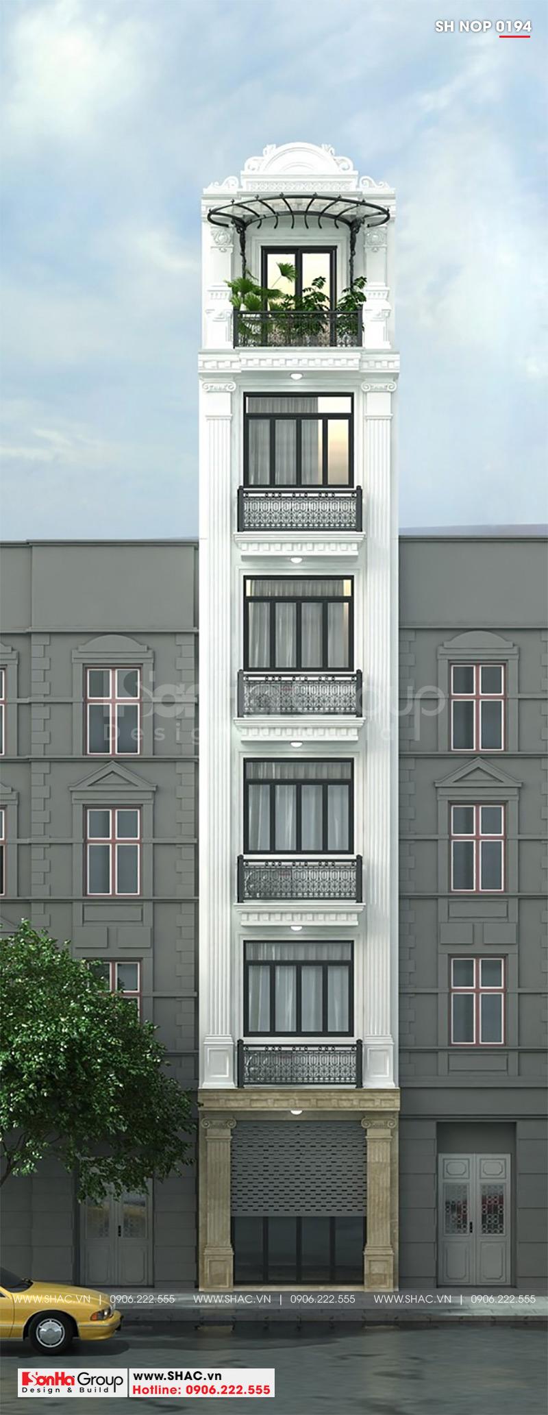Kiến trúc nhà ống tân cổ điển 3,6x17m dễ dàng chinh phục mọi ánh nhìn