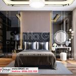 4 Cách bố trí nội thất phòng ngủ bố mẹ khu đô thị waterfront wfc 006