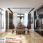 4 Cách trang trí nội thất phòng bếp ăn cao cấp wfc 007