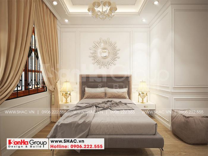 4 Cách trang trí nội thất phòng ngủ 2 tân cổ điển mặt tiền 6m tại sài gòn sh nop 0193