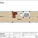 4 Mặt bằng tầng 1 nhà ống kết hợp kinh doanh tại quảng ninh sh nop 0194