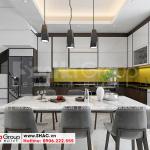 4 Mẫu nội thất phòng bếp ăn đẹp tại lạng sơn sh nod 0206