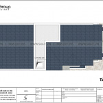 6 Bản vẽ tầng mái nhà ống tân cổ điển mặt tiền 6m tại sài gòn sh nop 0193