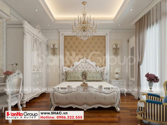 Cách trang trí phòng ngủ sang trọng với đồ nội thất gỗ tạo hình đẹp