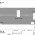 7 Bản vẽ tầng mái nhà ống phong cách hiện đại tại hải phòng sh nod 0204
