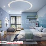 7 Mẫu nội thất phòng ngủ con trai khu đô thị waterfront wfc 006
