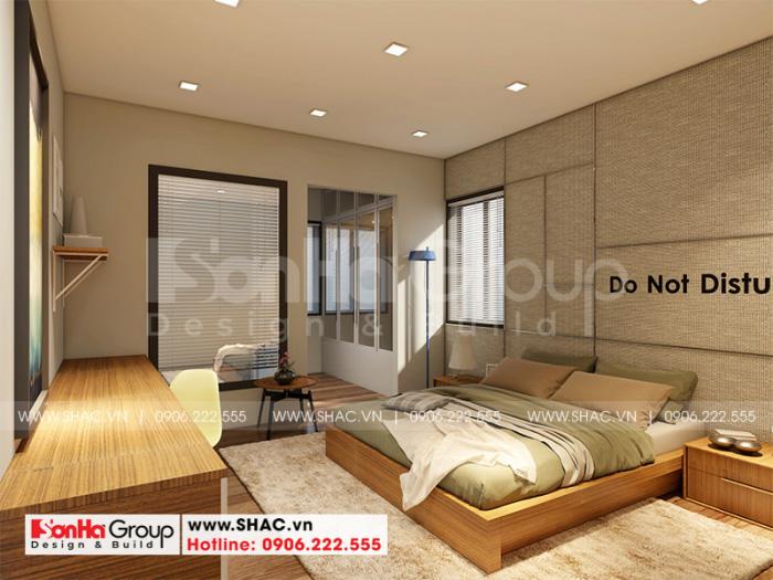Không gian nội thất phòng ngủ hiện đại, trẻ trung và năng động