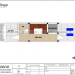 9 Bản vẽ tầng tum nhà ống tân cổ điển đẹp tại quảng ninh sh nop 0194