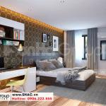 9 Cách trang trí nội thất phòng ngủ 3 đẹp tại waterfront wfc 007