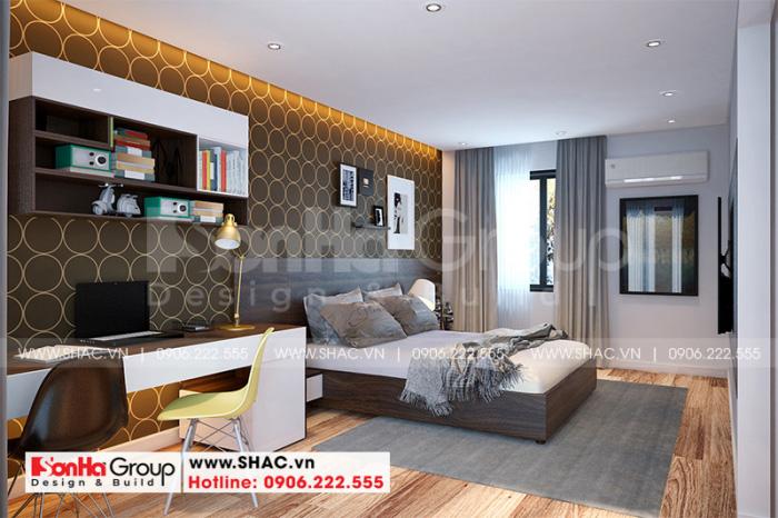 Cách trang trí nội thất phòng ngủ master với những gam màu hiện đại tinh tế