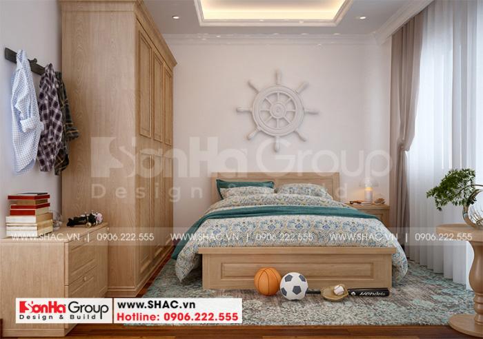 Đây cũng là phương án thiết kế nội thất phòng ngủ được đánh giá cao