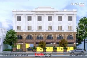 BÌA thiết kế tòa nhà văn phòng 4 tầng kiểu tân cổ điển tại hải phòng sh vp 0032