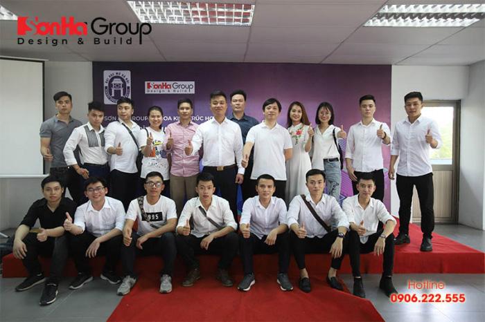 """Đội ngũ Sơn Hà Group tại chương trình giao lưu """"Kiến trúc sư trẻ và hành trang khởi nghiệp"""""""