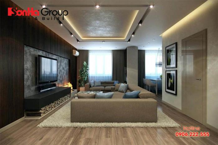 Kệ tivi cũng là một lựa chọn cần thiết cho không gian phòng khách nhà bạn