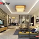 Không gian đẹp phòng khách thiết kế hiện đại và sang trọng 10
