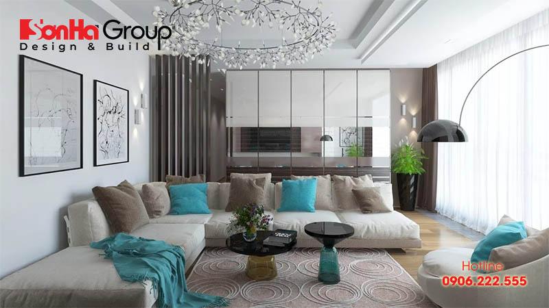30+ Không gian đẹp phòng khách thiết kế hiện đại và sang trọng 11