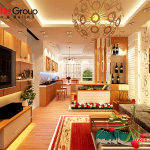 Không gian đẹp phòng khách thiết kế hiện đại và sang trọng 20