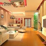 Không gian đẹp phòng khách thiết kế hiện đại và sang trọng 21