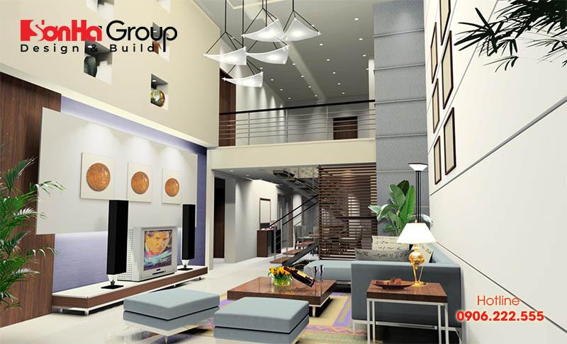 30+ Không gian đẹp phòng khách thiết kế hiện đại và sang trọng 21