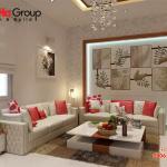 Không gian đẹp phòng khách thiết kế hiện đại và sang trọng 24