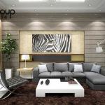 Không gian đẹp phòng khách thiết kế hiện đại và sang trọng 25