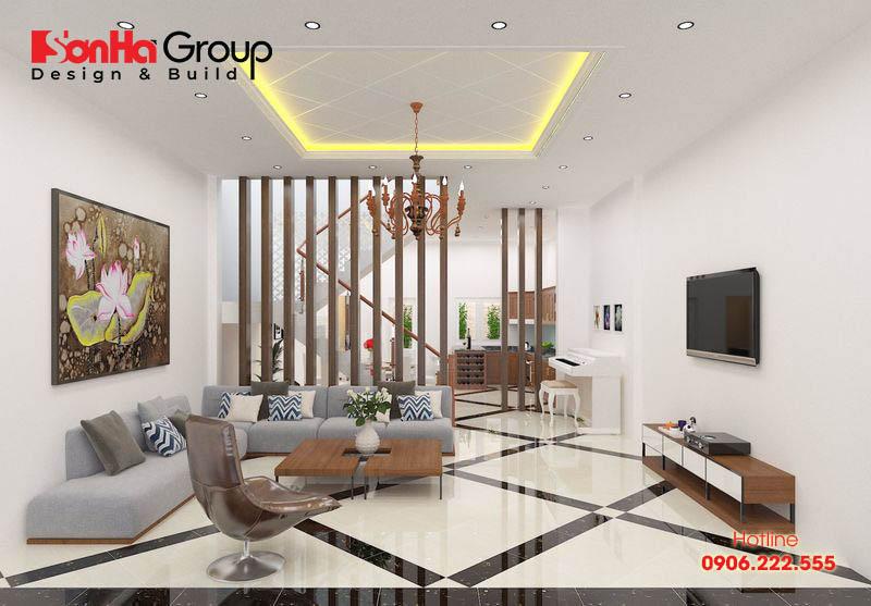 Trang trí phòng khách 20m2 với xu hướng nội thất hiện đại vạn người mê 14