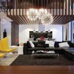 Không gian đẹp phòng khách thiết kế hiện đại và sang trọng 3