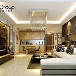 Không gian đẹp phòng khách thiết kế hiện đại và sang trọng 9