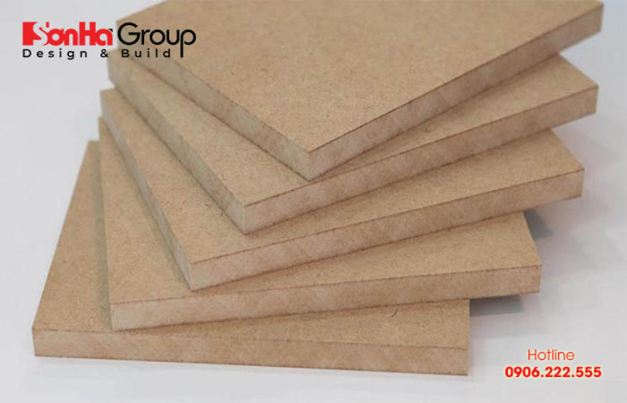 Mẫu gỗ HDF siêu chống ẩm thích hợp cho nội thất phòng bếp