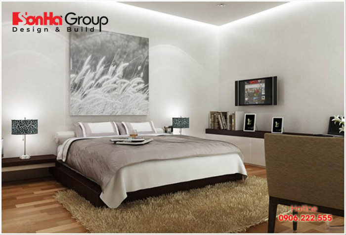Trang trí phòng ngủ đẹp mà rẻ với nội thất hiện đại ấn tượng nhất năm 7