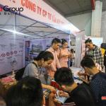 """Ngày hội việc làm 2019 – Gian hàng Sơn Hà Group """"hạ gục"""" các ứng viên (14)"""