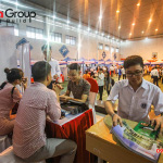 """Ngày hội việc làm 2019 – Gian hàng Sơn Hà Group """"hạ gục"""" các ứng viên (3)"""