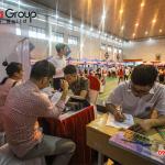 """Ngày hội việc làm 2019 – Gian hàng Sơn Hà Group """"hạ gục"""" các ứng viên (4)"""
