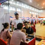 """Ngày hội việc làm 2019 – Gian hàng Sơn Hà Group """"hạ gục"""" các ứng viên (5)"""