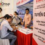 """Ngày hội việc làm 2019 – Gian hàng Sơn Hà Group """"hạ gục"""" các ứng viên (9)"""