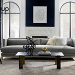 Thiết kế phòng khách phong cách hiện đại có phần đơn giản hơn, bớt rườm rà hơn