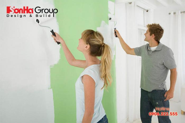 Thời điểm vào ở ngôi nhà mới sơn có quyết định ảnh hưởng tác hại mùi sơn