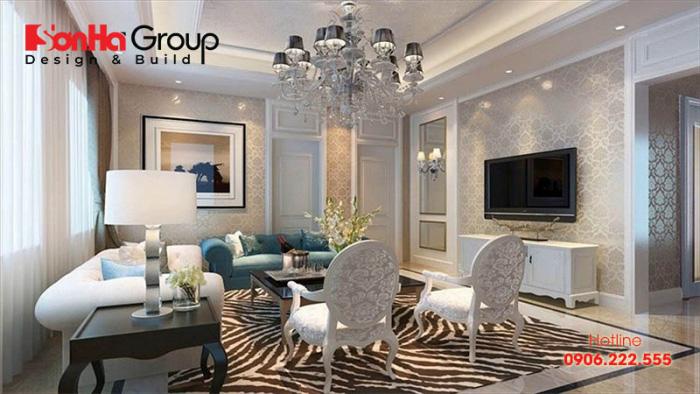 Trang trí nội thất phòng khách ấn tượng với các mẫu đèn hot nhất hiện nay