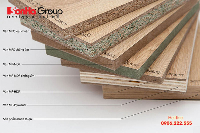 Ván gỗ công nghiệp An Cường đa dạng chủng loại và được sử dụng nhiều