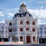 1 Thiết kế biệt thự lâu đài đẹp tại hà nội sh btld 0040