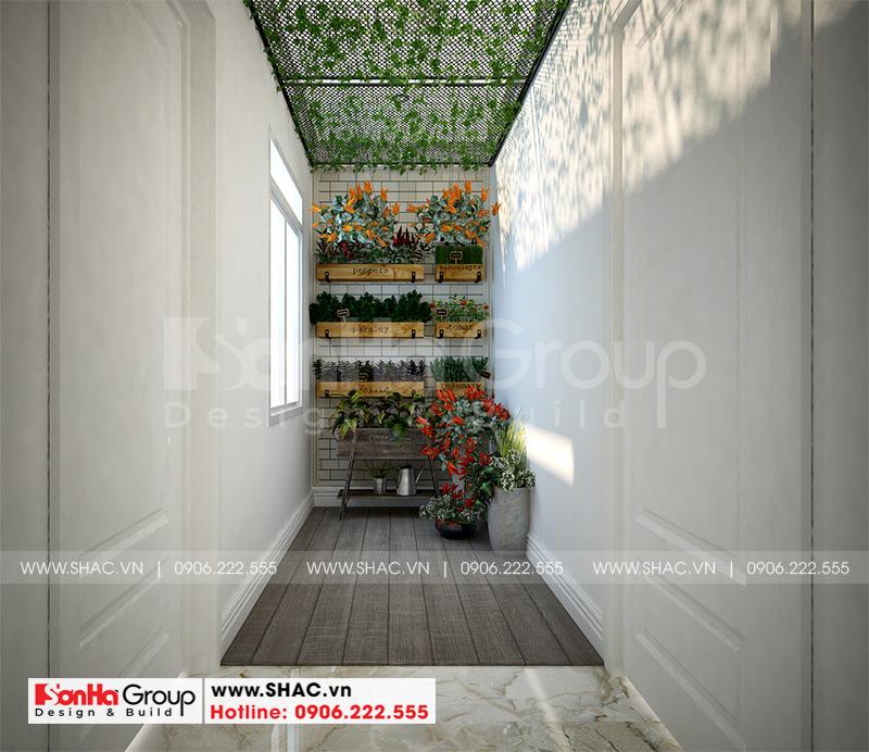 Mãn nhãn mẫu thiết kế nội thất nhà phố hiện đại 4 tầng 4x17m tại Hải Phòng 22